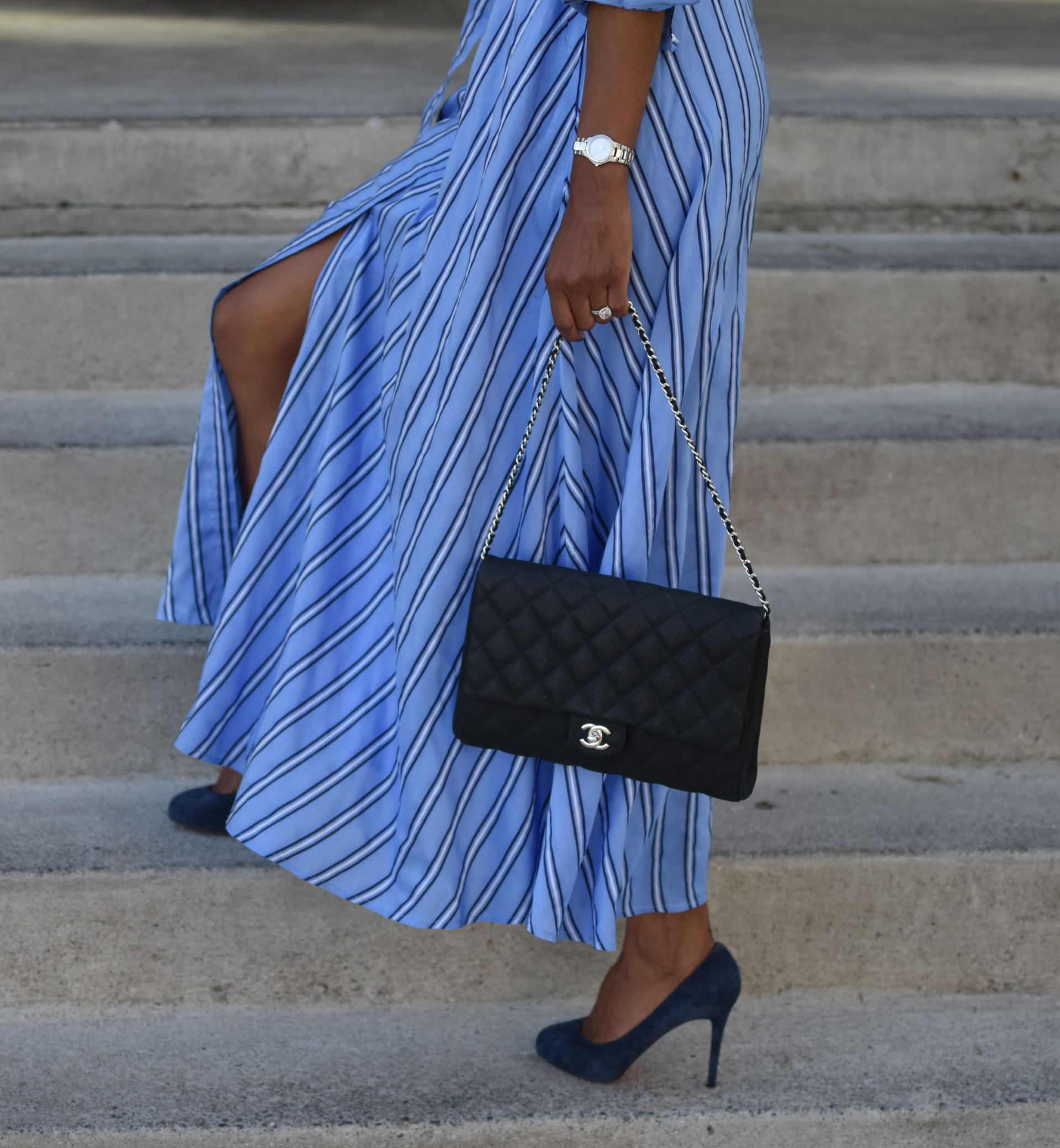 Feeling Blue...Stripes! - cherry-picked STYLE